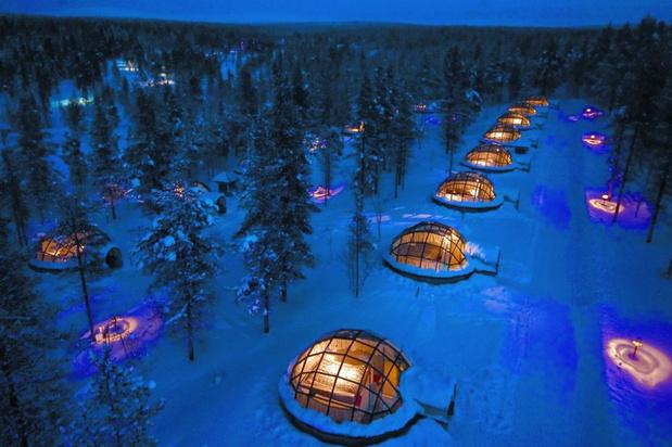 Video: deze iglo's in de Finse wildernis zijn de beste plaats om het noorderlicht te zien