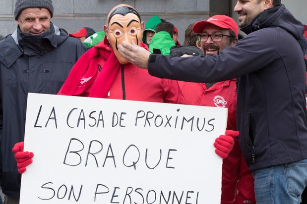 Directie Proximus drukt herstructureringsplan door ondanks verzet vakbonden