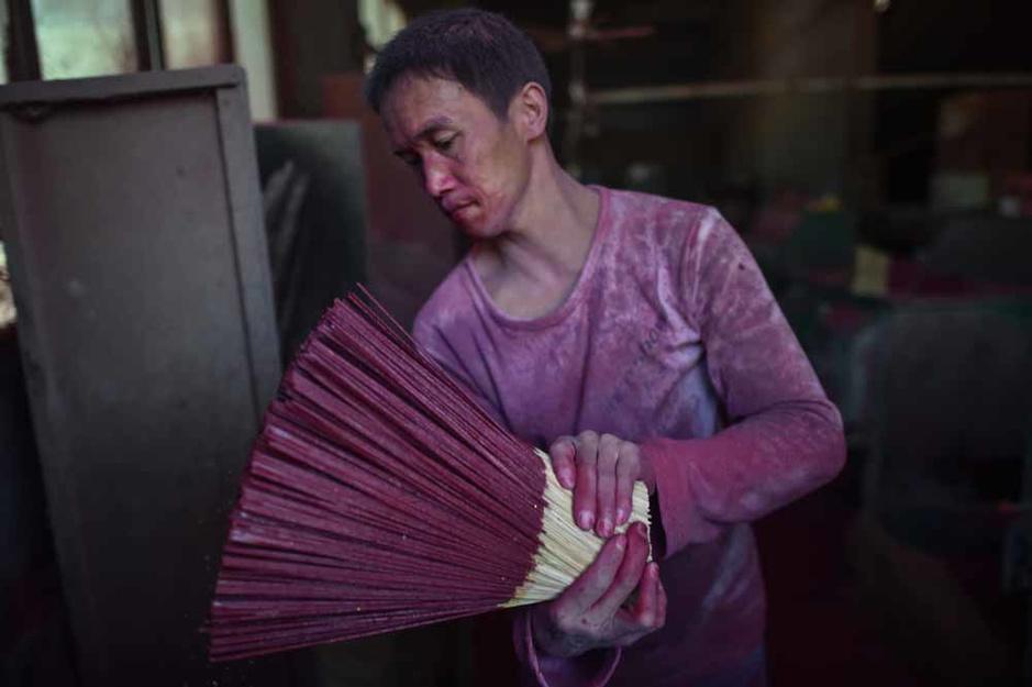 La Chine, pays de l'encens (en images)