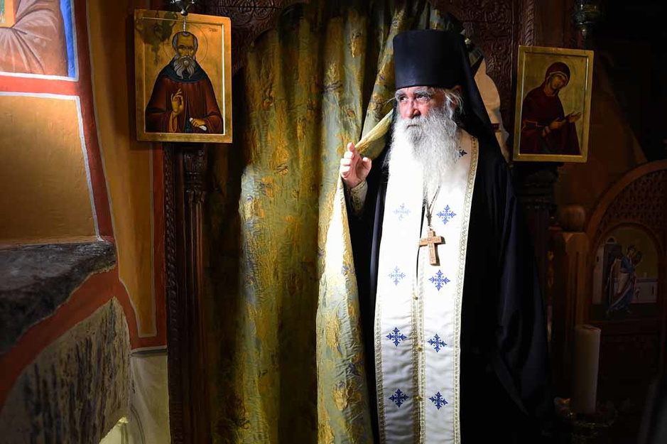 Cet ex-photographe de mode devenu moine orthodoxe (en images)