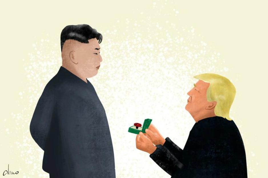 'Trumps toenadering tot Kim Jong-un leidt tot een veiligere wereld'