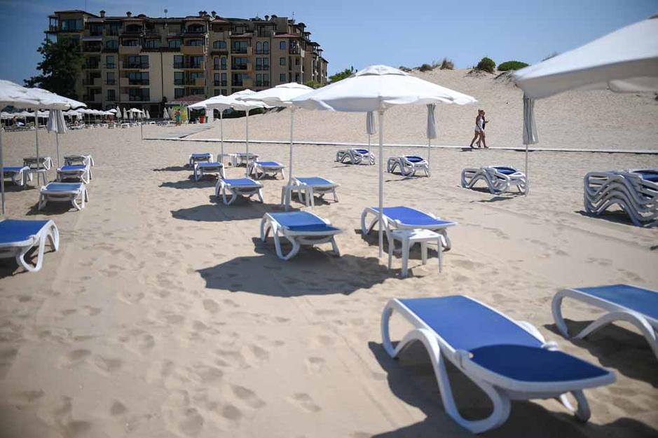 Sunny Beach, l'Ibiza bulgare, s'est transformée en ville fantôme