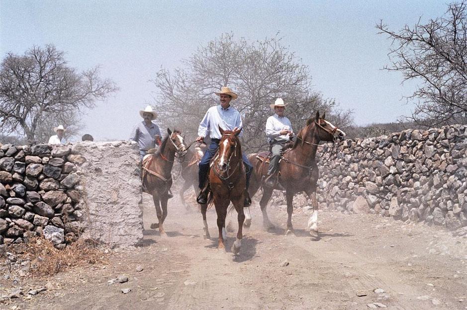 Vicente Fox, ex-president van Mexico: 'Een muur zal drugs en migranten niet tegenhouden'
