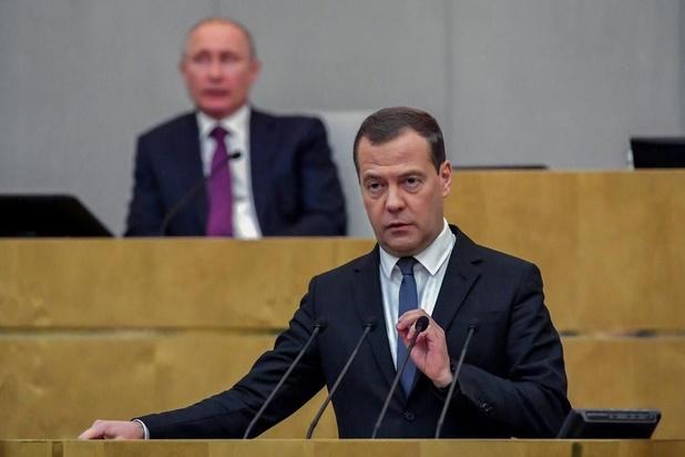 """Nouveau président en Ukraine: Medvedev voit """"une chance"""" de meilleures relations"""