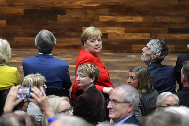 Les tremblements à répétition d'Angela Merkel, un sujet tabou pour son parti