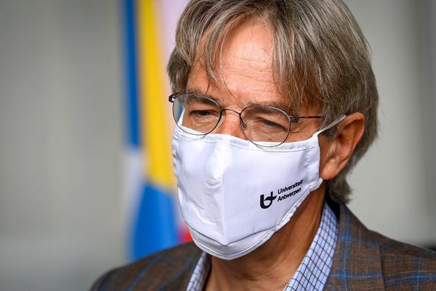 Covid: Herman Goossens annonce que son nouveau système de tests salivaires rapides est prêt