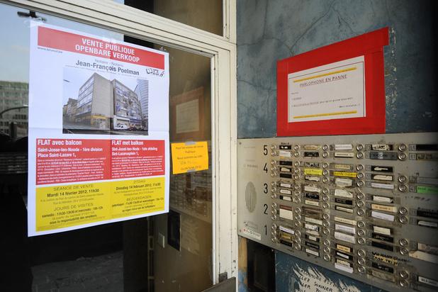 Le logement incapable de répondre à la demande sociale à Bruxelles
