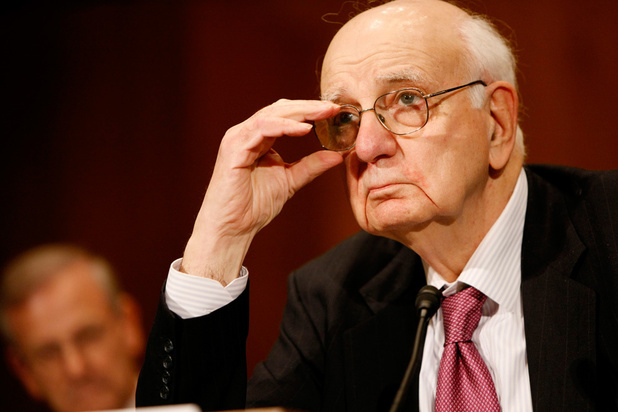 Voormalig Fed-baas Paul Volcker overleden