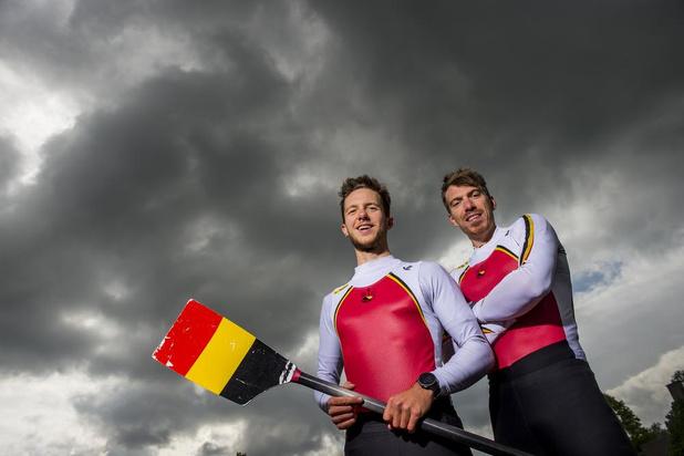 Roeiers Niels Van Zandweghe en Tim Brys lonken naar olympisch ticket