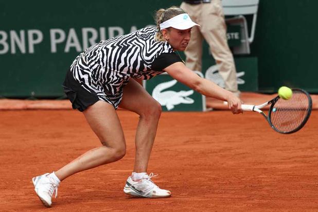 Roland Garros: Elise Mertens et Aryna Sabalenka qualifiées pour le troisième tour du double dames