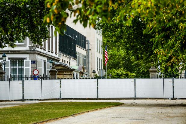 Le véhicule suspect près de l'ambassade américaine à Bruxelles était une fausse alerte