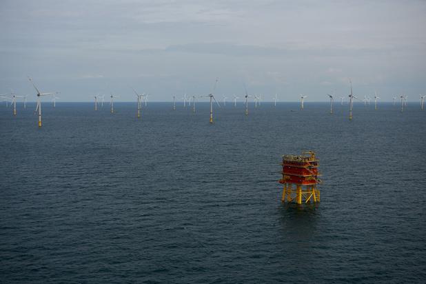 Année record pour l'éolien offshore belge