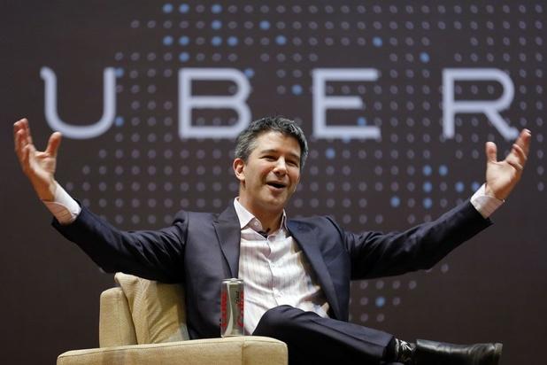 Oprichter Kalanick weg uit bestuur Uber