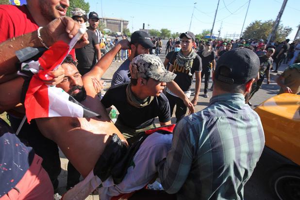 Dodentol Irak loopt op: 93 doden en bijna 4.000 gewonden sinds begin protestbeweging