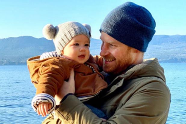 Le prince Harry et son fils au Canada