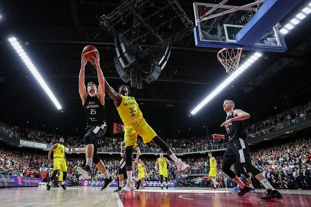Le Final Four de la Ligue des champions de basket au Sportpaleis d'Anvers