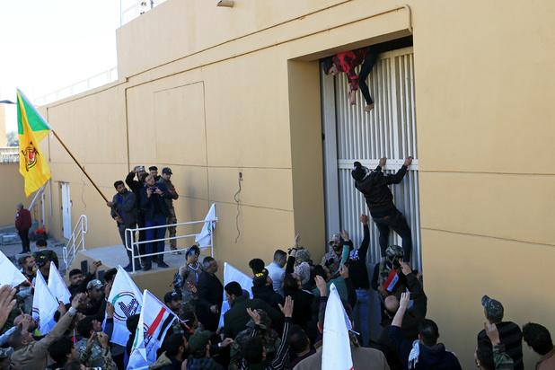 Opnieuw raket ingeslagen in de buurt van Amerikaanse ambassade in Irak