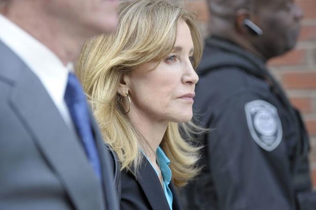 L'actrice américaine Felicity Huffman est en prison