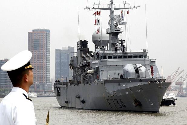 China onderschept schip van Franse marine in Straat van Taiwan
