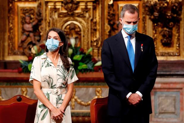 Le roi d'Espagne en quarantaine après un contact avec une personne positive au Covid-19