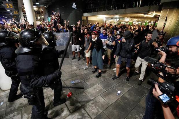 'Ook veel niet-separatistische Catalanen vinden de straffen ongehoord'
