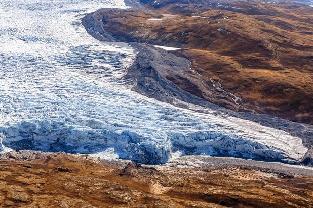 Groenland: nog nooit zoveel ijs gesmolten op één dag