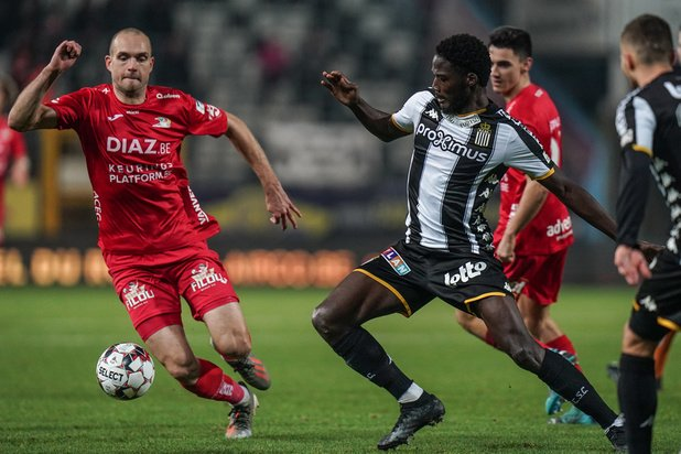 Jupiler Pro League: Charleroi empile cinq buts contre Ostende et se retrouve deuxième
