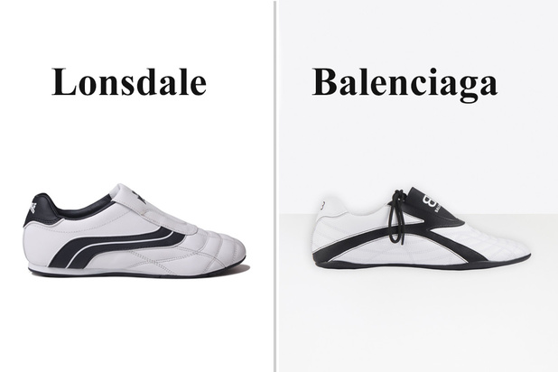 Balenciaga scheurt z'n broek aan nieuwe sneakers