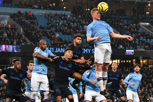 Sans briller, Manchester City bat Everton grâce à un doublé de Gabriel Jesus