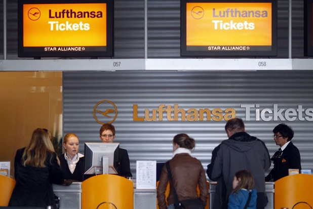 Appel à la grève pour les prochains jours chez Lufthansa