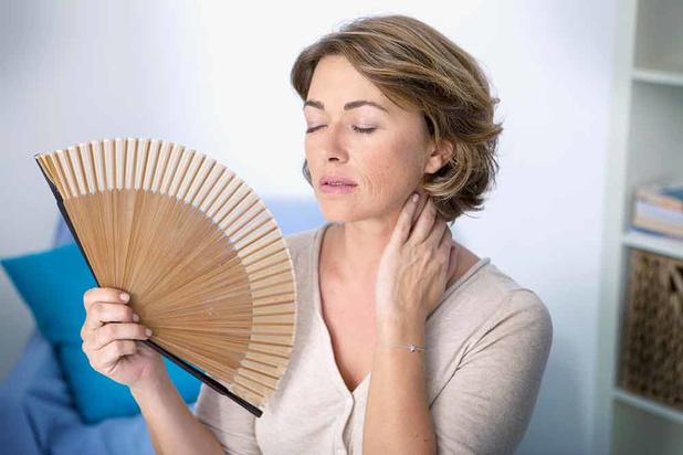 Opvliegers in de menopauze