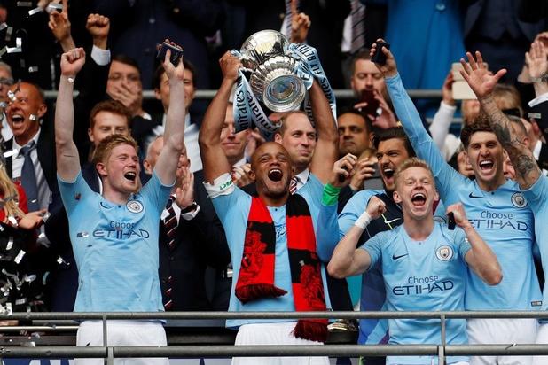 Manchester City wint FA Cup en pakt eerste Engelse treble ooit