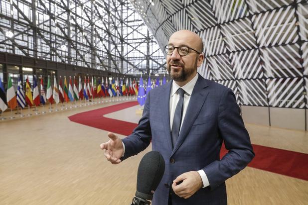 Le dialogue sur l'élargissement doit se poursuivre, selon Charles Michel