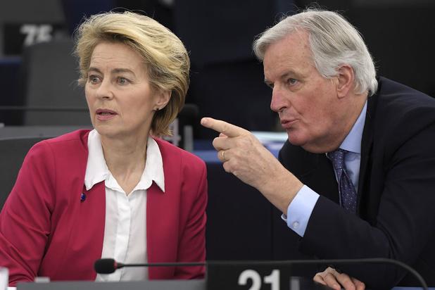 """Brexit: von der Leyen """"inquiète"""" du peu de temps imparti"""