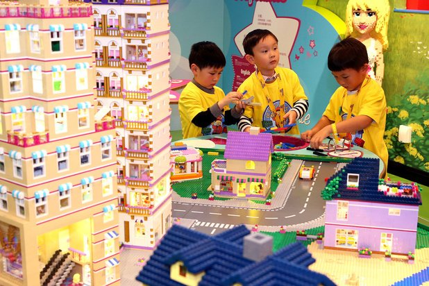 Ouverture d'un Legoland de 3000 m2 à Bruxelles, en 2022