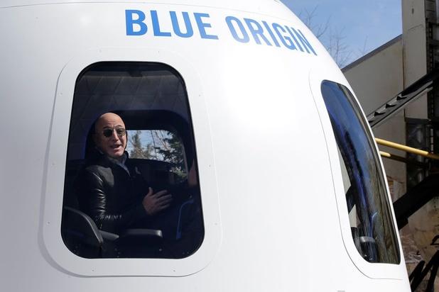 Jeff Bezos fait un don de 200 millions de dollars au musée aéronautique américain