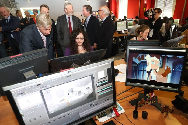Les deux spécialistes belges de l'animation audiovisuelle Dreamwall-Keywall fusionnent