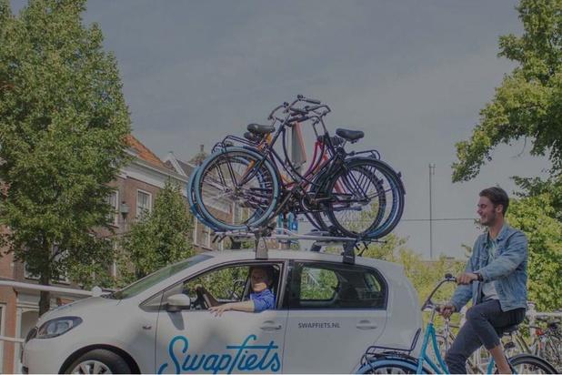 Swapfiets loue des vélos électriques sur abonnement à Anvers et Bruxelles