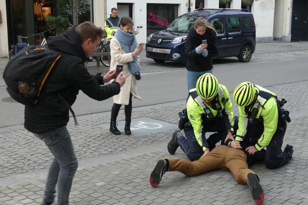 Antwerpse politie nu ook echt aan de slag met bodycams