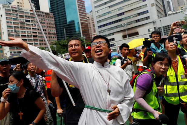 Straten van Hongkong opnieuw overspoeld met demonstranten