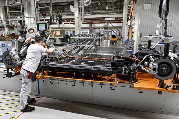 Chiptekort leg productie bij Audi Brussels stil
