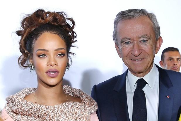 Le groupe de luxe LVMH et Rihanna lancent une marque de prêt-à-porter et maroquinerie