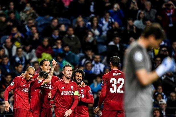 Liverpool, sans pitié face à Porto, retrouvera le Barça en demies