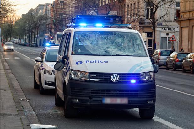 Violences contre des policiers à Anderlecht: le parquet de Bruxelles ouvre une enquête