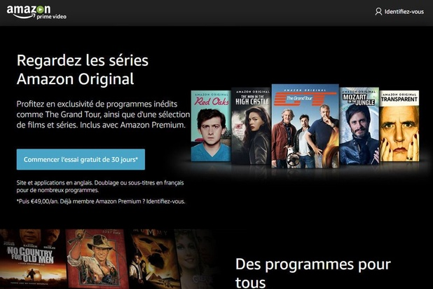 Une deuxième émission française débarque sur Amazon