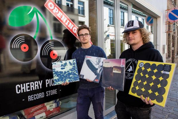Jesse Gryson en Cedric Verstraete openen Cherry Picker Record Store