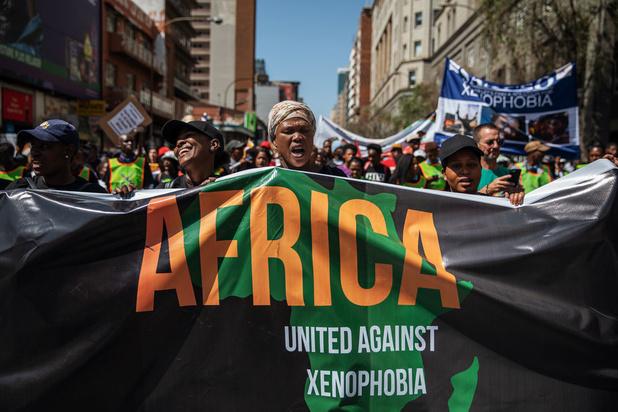 'Het panafrikanisme is ver te zoeken in Zuid-Afrika'
