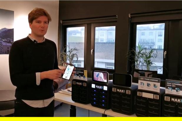 Pitch: Le réseau des chargeurs de smartphones (vidéo)