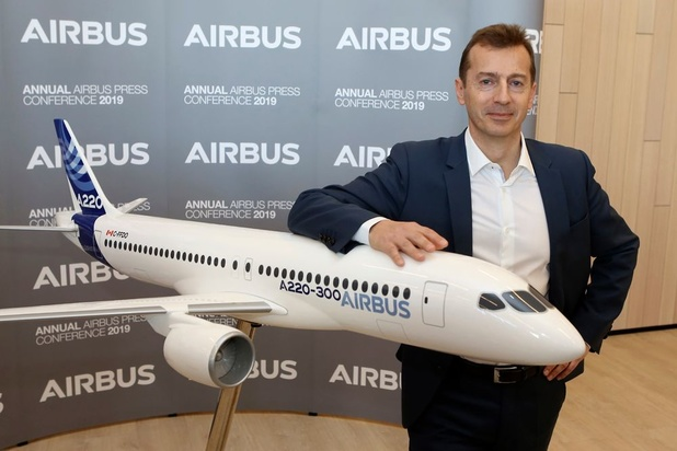 Le patron d'Airbus appelle à rouvrir les frontières en Europe