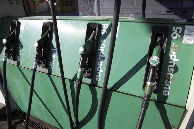 Benzine en diesel worden goedkoper op nieuwjaarsdag